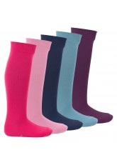 Footstar Kinder Kniestrümpfe (5 Paar) - Everyday! - Sweet Colours