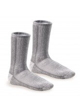 2 Paar THERMO ULTRA Thermosocken Grau-Melange hell
