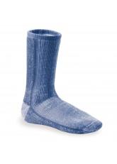 Footstar Damen und Herren  Wollsocken (1er Pack) THERMO-ULTRA - Blau