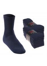 16 Paar Sport- und Freizeitsocken - jeansblau