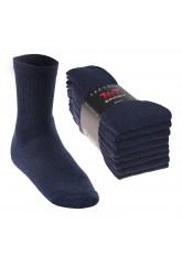 8 Paar Sport- und Freizeitsocken - jeansblau