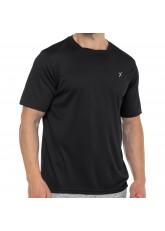 CFLEX Herren Sport Shirt Fitness T-Shirt piqué Sportswear Collection - Schwarz