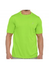 CFLEX Herren Sport Shirt Fitness T-Shirt piqué Sportswear Collection - Electric Green