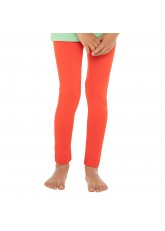 Kinder Leggings Baumwolle Rot