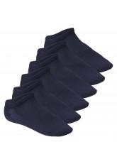 Footstar Herren & Damen Fitness Sneaker Socken (6 Paar), Mesh-Strick, OEKO-TEX - Marine