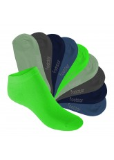 Footstar Kinder Sneaker Socken (10 Paar) - Sneak it! - Cool Colours
