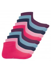 Footstar Kinder Kurzschaft Socken (10 Paar) - Sneak it! - Sweet Colours