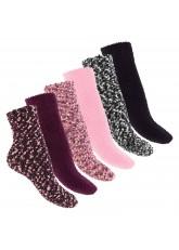 Footstar - 6 Paar Soft Socks ABS Kuschelsocken
