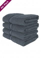 4 weiche Frottee Handtücher 50x90 von TERRYLAND Magnet