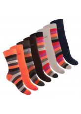 8 Paar Relax Damen Socken