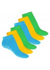 6 Paar Damen Pilates Sneaker Rio