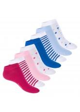 Footstar Damen Motiv Sneaker Socken (8 Paar), Kurze süße Söckchen mit Mustern - Multicolor