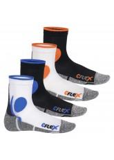 CFLEX Damen und Herren Running Funktions-Socken (4 Paar) Laufsocken - All Colours