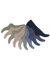 10 Paar Herren Business Socken 100% Baumwolle Mix (5x Jeanstöne + 5x Naturtöne)