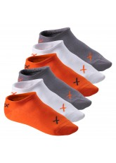 6 Paar CFLEX LIFESTYLE Invisible Sneaker Socks Poppy Excalibur
