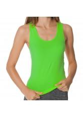 CFLEX Damen Sportswear Seamless Tank Top, Ärmelloses Strech-Oberteil - Neongrün