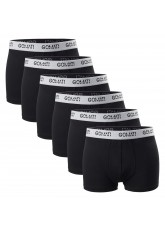 6er Pack Gomati Cotton Pants Black