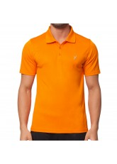 CFLEX Men Sportswear Collection - Herren Polo Shirt - Orange