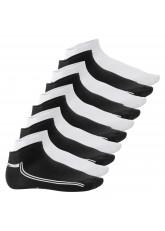 10 Paar SNEAK IT! Sneaker - Schwarz-Weiss mit Streifen