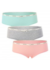 Celodoro Lady Underwear - 3er Pack Panty - Pastell Mix