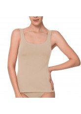 Celodoro Basic Damen Hemd - Tanktop nude