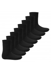 Footstar Kinder Wintersocken (8 Paar) - Everyday! - Schwarz