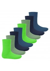 Footstar Kinder Wintersocken (8 Paar) - Everyday! - Cool Colours