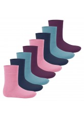 Footstar Kinder Wintersocken (8 Paar) - Everyday! - Sweet Colours