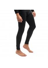 MT Herren Ski- und Thermounterhose - warme Unterwäsche lang mit Innenfleece Thermo Light - Schwarz