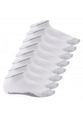 8 Paar Sneaker Socken Smart Walk weiß