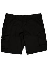 Original Gomati Urban Style Herren Cargo Short - Black- W32-40