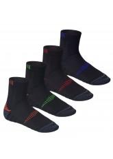 CFLEX Herren & Damen Laufsocken (4 Paar), Funktions Socke mit verstärkten Zonen
