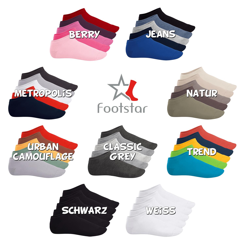 Sneaker Socken Sneakersocken Baumwolle mit Frotteesohle Sport Damen 2-10 P
